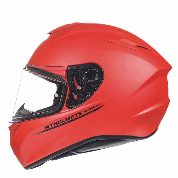 MT Targo Red Matt Helmet