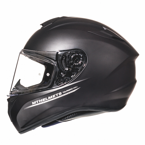 MT Targo Black Matt Helmet
