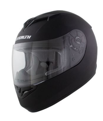 Stealth V121 Matt Black Helmet