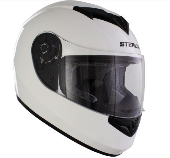 Stealth V121 Helmet Gloss White