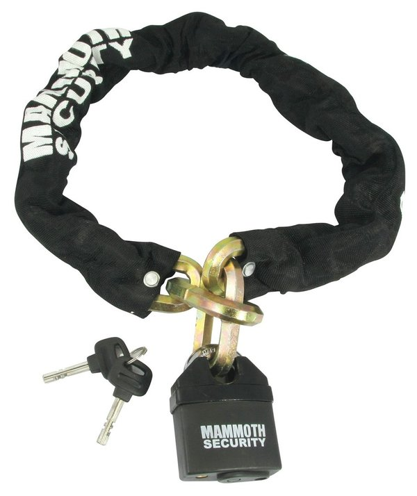 Mammoth 12mm Hexagon Lock and Chain 1 Metre