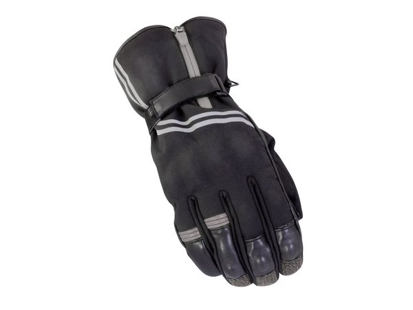 Bike It Guardian Waterproof Winter Gloves Black Grey