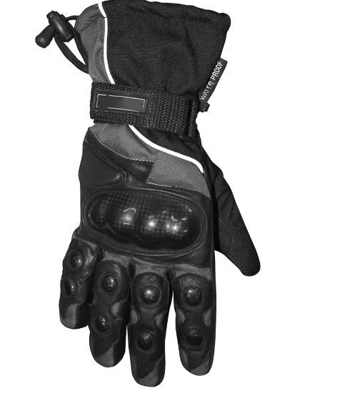Heavy Winter Thermal Gloves With Hard Knuckle