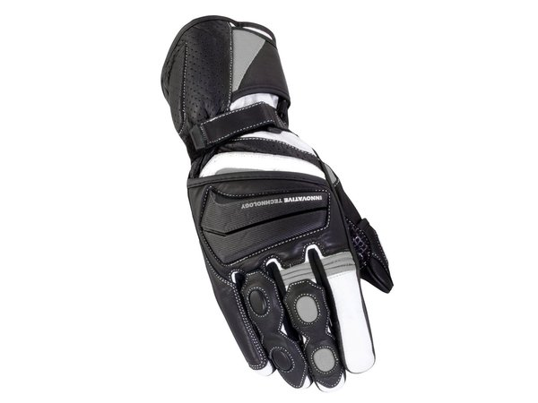 Bike It Crossfire Summer Gloves  Black Grey