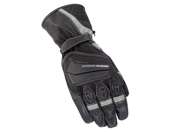 BIKE IT 'SPYDER' SUMMER GLOVE - BLACK/GREY