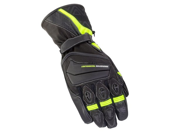 BIKE IT 'SPYDER' SUMMER GLOVE - BLACK/NEON