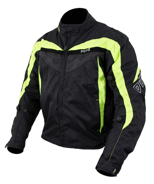 Dojo Miura Textile Waterproof Jacket  Black  / Black Neon Yellow
