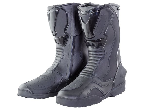 BIKE IT ROAD TRANSFER ADULT BOOTS BLACK