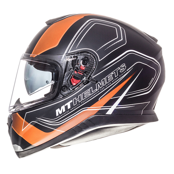 MT Thnder 3 Trace Orange Black